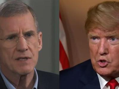 Trump Attacks Gen. McChrystal as a 'Hillary Lover' with a 'Big, Dumb Mouth'