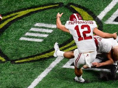 Alabama kicker missed a 36-yard game-winning field goal attempt in the final seconds to send the game to OT