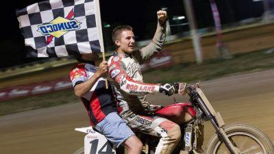 American Flat Track: Briar Bauman's Big Night At Lima Half-Mile
