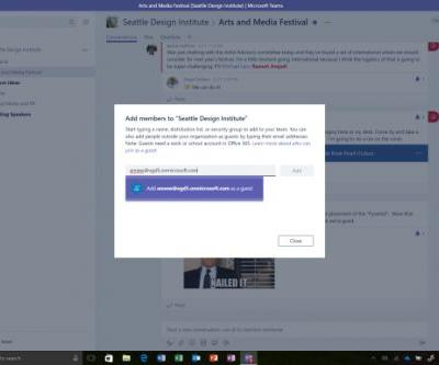 Microsoft Teams opens conversations to outsiders with new guest access feature