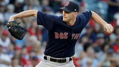 Chris Sale gets 200th strikeout as Red Sox beat Angels