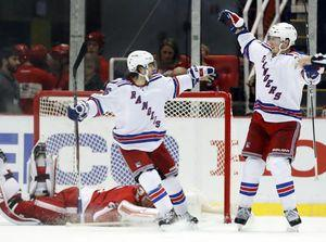Miller's goal gives Rangers 1-0 win over Detroit in OT