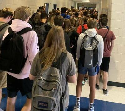 HS that suspended teen who tweeted photo of hallway has 9 COVID-19 cases