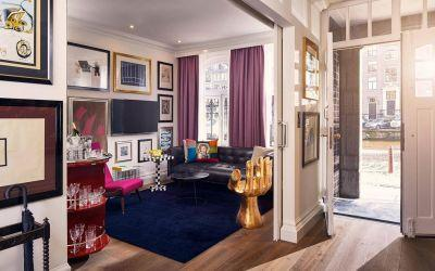 Top 10: the best design hotels in Amsterdam