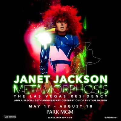 Janet Jackson announces Las Vegas residency celebrating 30th anniversary of Rhythm Nation