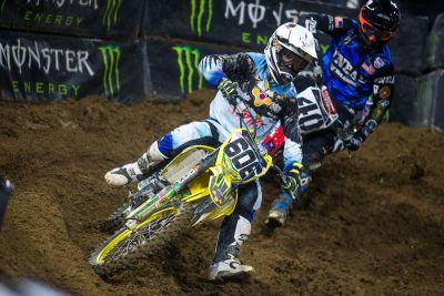 Ronnie Stewart Sees Improvements in San Diego Supercross