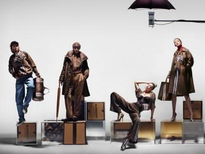 An army of Gigi Hadid clones front new Burberry collection