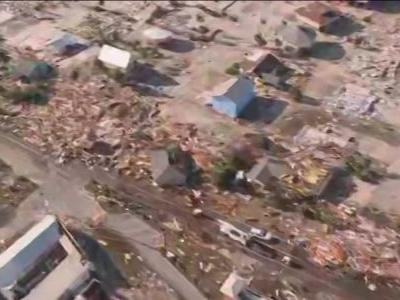 Aerial video shows destruction in Mexico Beach, Florida from Hurricane Michael
