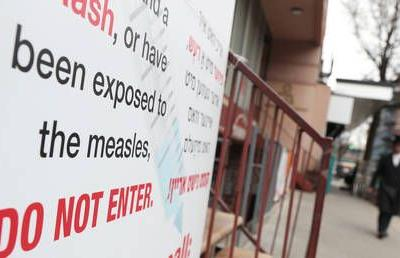 Measles outbreak set to smash 10-year yearly record in first months of 2019
