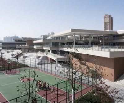 Experimental Primary School of Suzhou Science and Technology Town / Atelier Z+ , Dplus Studio