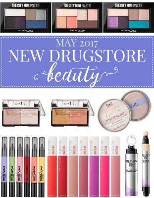 New Drugstore Makeup & Beauty Launches: May 2017