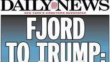 New York Daily News Reworks Iconic Headline To Mock Donald Trump's Greenland Idea