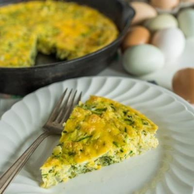 Easy Make-Ahead Zucchini Egg Bake