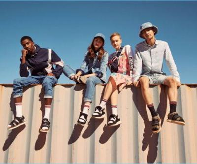 """Christian """"King"""" Combs + More Front Tommy Jeans Spring '18 Campaign"""