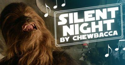 Chewbacca Sings Silent Night in New Star Wars Holiday