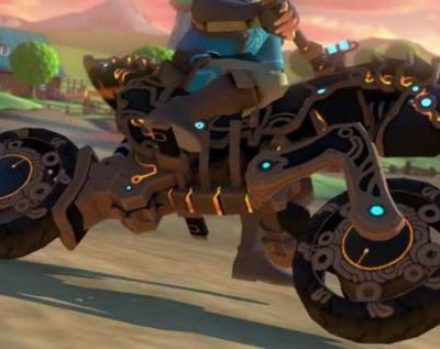 Mario Kart 8 Deluxe brings BotW Master Cycle Zero and Link
