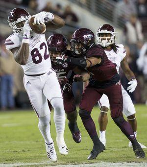 Mississippi State beats Texas A&M 35-14 for 3rd straight win