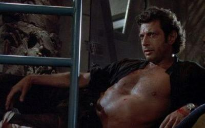 Shirtless Jeff Goldblum From Jurassic Park Has A Giant Statue In London