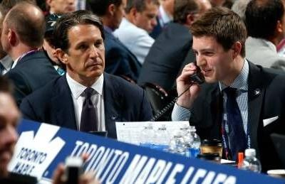 Maple Leafs name Kyle Dubas new general manager