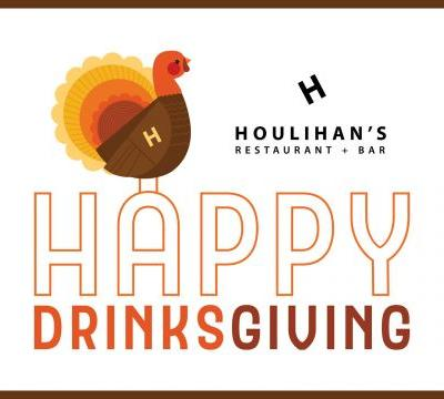 Turkey, Stuffing and Football. But First, 'Drinksgiving' at Houlihan's