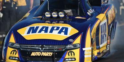 Dodge Charger Driver Capps Scores Ticket to Rain Delayed NHRA Seattle Funny Car Final