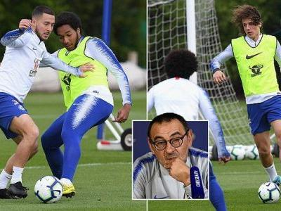 Chelsea search for improvements as they train for Manchester United