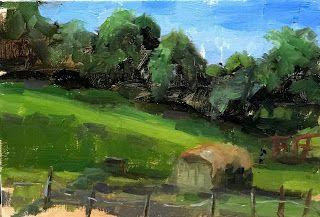 Sunny Pastures by artist Pat Meyer
