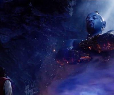 Will Smith's blue genie is rapping in the official Aladdin trailer