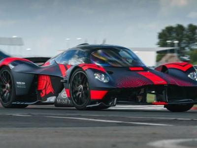 Aston Martin Has Cancelled Its Valkyrie-Based WEC Entry