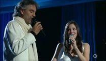 Andrea Bocelli And Katharine McPhee Give STUNNING Performance Of 'The Prayer.' WOW!