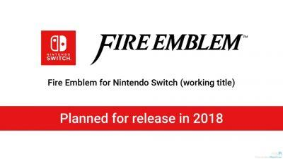 New Fire Emblem Announced For Switch Release In 2018
