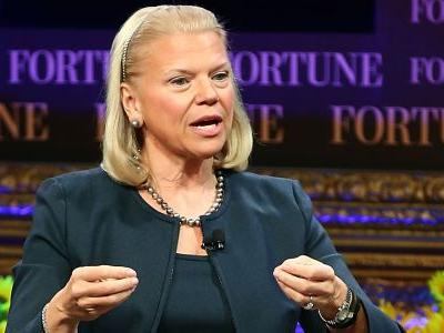 IBM beat on revenue for final quarter of fiscal 2017