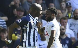 West Brom beats Spurs 1-0 to keep alive EPL survival hopes