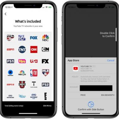 YouTube TV Increases Price to $49.99/Month, $54.99/Month When Billed Through Apple
