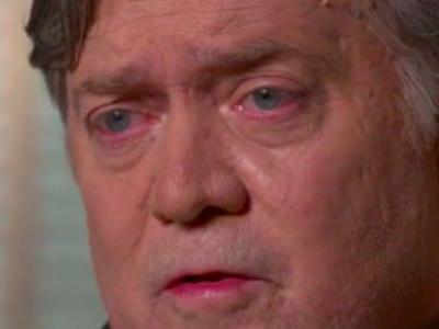 No, '60 Minutes' Didn't Purposely Make Steve Bannon Look Like A 'Bleary-Eyed Drunk'