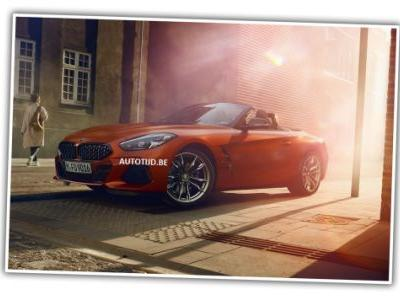 This is the 2019 BMW Z4 Before You're Supposed to See It
