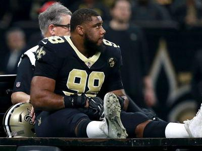 Sheldon Rankins injury update: Saints DT has torn Achilles tendon, report says