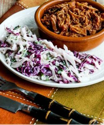 Instant Pot Pulled Pork with Low-Sugar Barbecue Sauce
