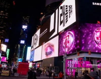 Samsung teases its new Galaxy S10 and Galaxy F with giant billboards