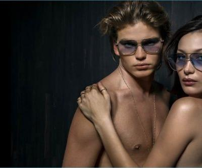 Jordan Barrett Couples Up with Bella Hadid for Chrome Hearts Spring '18 Campaign