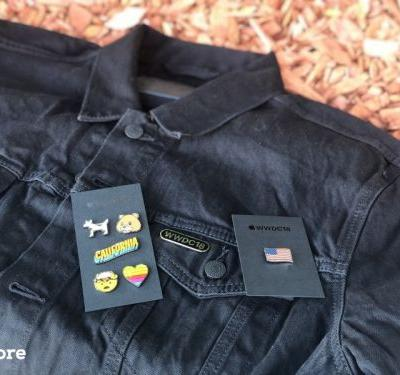 WWDC 2018 Swag: Apple unleashes new jean jackets and iconic pins for developers