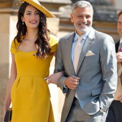 George Clooney's Response to Whether He'll Be Baby Archie's Godfather Was, Um, Unexpected!