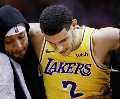Now Lakers are dealt Lonzo Ball crusher