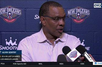 Alvin Gentry talks record-setting offensive night, win over Lakers