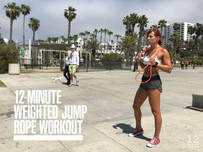 Get Fit Faster With This Weighted Jump Rope Workout
