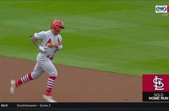 WATCH: Wong, O'Neill go deep in Cards' Game 1 win over Pirates