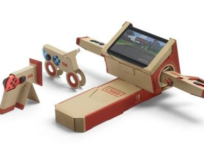 German ratings board almost threw away Nintendo Labo as they mistook it for garbage