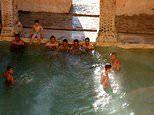 The incredible Roman bathhouse that was built over 2,000 years ago and is still running today
