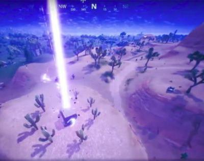 Fortnite rifts are now shooting giant lightning bolts at the ground