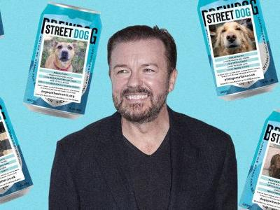 Ricky Gervais and BrewDog Announce 'Street Dog' Beer to Help Strays